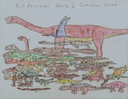 PnF Primeval Series 1 Creature Chart by CKDinomite65