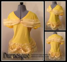 Beauty and the Beast Ballgown T-shirt by Durnesque