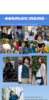 Cosplay Meme Updated :'D by RiKyo5
