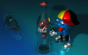 Coke Bulb by At0mArt