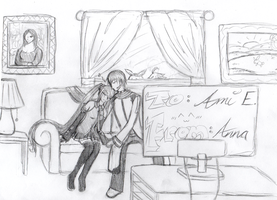 Drawing Request for Ami E. by naoyi