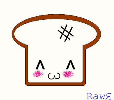 Frank the toast :D by NinjaWithSunglasses