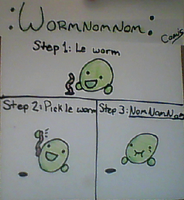 A Wild :WormNomNom: Has Appeared! by Imperfectionality