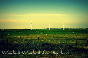Windmill by Freakiniilse