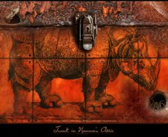 The Trunk In Nanna's Attic by JenaDellaGrottaglia