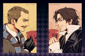 SH2-Watson and Holmes2 by Athew