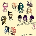 Another sketchdump by Wickfield