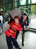 Ranma and Ukyo by MissSinger