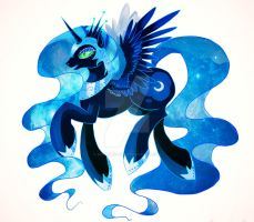 MLP Nightmare Mooooon by Schwarz-one