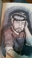 Marker Practice: Nujabes by Infinity-Joe