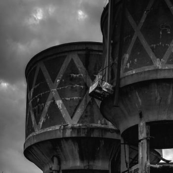Old water towers 2 by Swamp-talker
