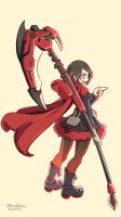 Ruby Rose by masudamasaru