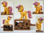 Hyper Scootaloo by renegadecow