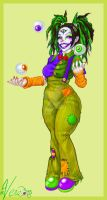 Boogle the Clown by Blattaphile