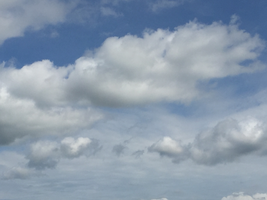 Clouds in the Sky IMG 0997 by TheStockWarehouse