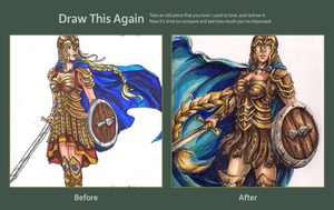 Draw This Again: Brynja by EvilFuzz