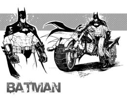 My Batman by JoeyVazquez