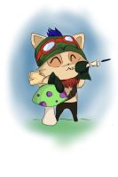 Teemo- League of Legends by Hamzilla15