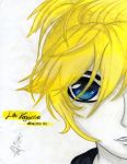 Len Kagamine - Drawing/Painting by AhomeToons