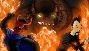 Dummies and Dragons Banner by 8comicbookman8