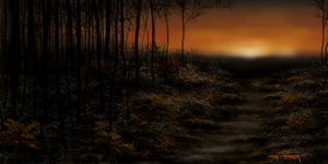 Fall Speed painting by meshachvogel