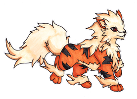 Marco Rossi the Arcanine [Pokeumans] by Lornext
