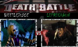 DEATH BATTLE: Beetlejuice Vs. Leprechaun by ARTIST-SRF
