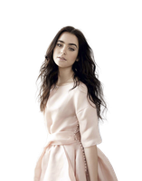 LILY_COLLINS_PNG_BY_MASCOT2 by MISS-SUN-OSTAPENKO