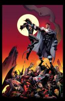 BATMAN BEYOND UNIVERSE #12 by E-Mann