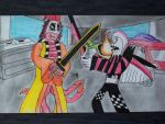 the angel and demon fights by vchannel