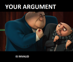 Your argument is invalid by Ibreevantlel65