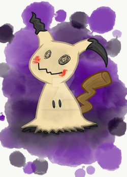 Mimikyu (Speedpaint!) by ScytheaAndLanarkine