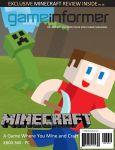 Custom Game Informer Cover:  Minecraft by T-3000