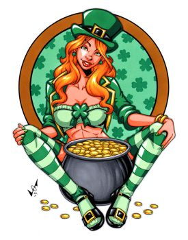 St. Patty's Day Babe by gb2k