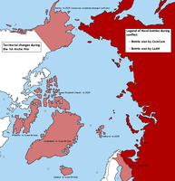 First Arctic War - map by Neethis