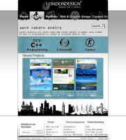 Web interface London Design by drouch