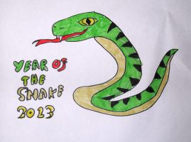 Year Of The Snake - 2013 by AnthroBrownWolf