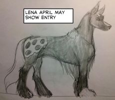 Lena April - May 2013 Show by Coplins