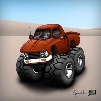 1979 Toyota Hi(gh)Lux 4X4 by RyanNore