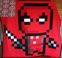 Deadpool Quilt by KimmiJe
