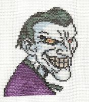 The Joker Cross-Stitch by saber4734