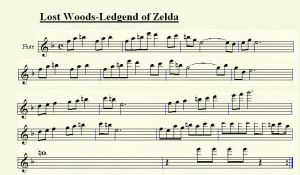 Lost Woods for Flute by tsuki50