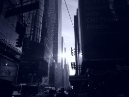 Reflective Light On 42nd Street by Brooklyn47