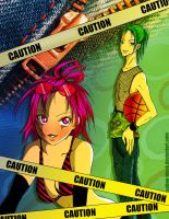 CAUTION3 by Satine-Black