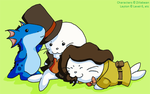 Cosplaying Harp Seals by SamCyberCat