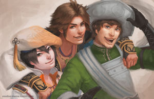 Team -Warriors Orochi - by CavalierediSpade