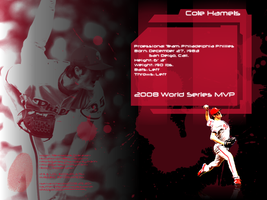 Agent Cole Hamels - MVP by cotrackguy