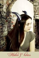M. in NEW Malice horns, III by che4u
