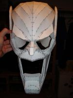 Green Goblin Mask So Far by MasterChief42283