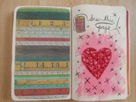 Sew this page by NailedItWithGlitter